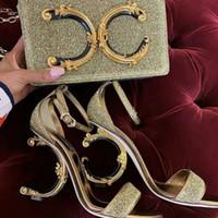 ingrosso cuoio europeo-Nuovo stile europeo di lusso Classico borsa da donna di moda borsa da sera. Sensazione metallica fatta di accessori decorativi color cuoio