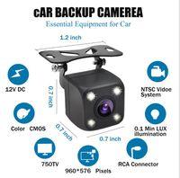 venda de carros da china venda por atacado-Vendas diretas da fábrica OEM atacado HD retrovisor câmera com 4 LED luz CMOS luzes LED IP68 À Prova D 'Água 170 HD câmera do carro da visão noturna