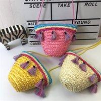 petit porte-monnaie achat en gros de-Raged Sheep Girls Porte-monnaie Porte-monnaie Kids One Shoulder Bag Petite Porte-monnaie Change Wallet Kids Baby # 111686