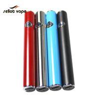 ingrosso batteria vaporizzatore blu-Batteria originale Vaporizzatore Nero / Argento / Blu / Colore personalizzato 380mAh 510 Discussione Tensione variabile Fondo USB Ricarica Vape Battery Pen per olio Ca