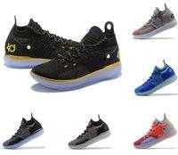 venta de zapatos para correr más bajos al por mayor-Ventas calientes Zapatillas de deporte KD11s Kevin Durant 11 Zoom running Zapatillas deportivas de lujo blancas Zapatillas de deporte KD EP Elite Low Sport.