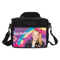 tote do kawaii venda por atacado-Kawaii Jojo Kawaii Menina Siwa Design Cooler Bags Crianças Mulheres Picnic Caso Vinho Totes Carry Box Totes Almoço Térmico Isolar