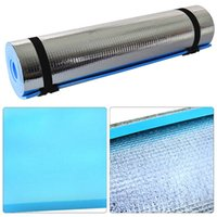 Wholesale foam sleeping mats resale online - Foam Yoga Mat Pad Portable Roll Soft Waterproof Wear resistant For Sleeping Camping Outdoor BB55
