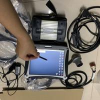 cable listo al por mayor-Multiplexor MB Star C3 con cables completos y diagnóstico multi-idiomas ssd en laptop cf-19 listo para trabajar sd c3