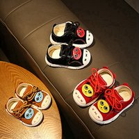 Wholesale anti cartoons online – custom Breathable Anti Slip Cartoon Animal Print SneaIers Toddler Soft Soled First Walkers Shoes M Newborn Baby Boys Girls Shoe1