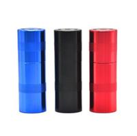pressfittings groihandel-Rauchmühlenbeschläge zylindrische Rauchpressstange Aluminium-Rauchpressvorrichtung Metall-Rauchpressvorrichtung