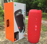 x mini-subwoofer-lautsprecher großhandel-1 STÜCKE Charge3 Drahtloser Bluetooth Lautsprecher HIFI Mini Subwoofer Tragbarer Outdoor Bluetooth Lautsprecher Sport Lautsprecher für iphone 6/7/8 / X / Xmax JBL