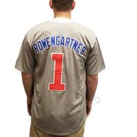 herren kostümhemd großhandel-Henry Rowengartner 1 Baseball Jersey Rookie Des Jahres Kostüm Film Uniform Herren Genähte Trikots Shirts Größe S-XXXL Freies Verschiffen