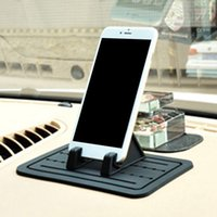 Wholesale sticky gps car dashboard for sale - Group buy Car Silicone Anti Slip Mat Dashboard Mobile Phone MP3 GPS Sunglasses Universal Holder Mount Bracket Non Slip Sticky Pad