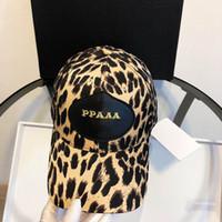 beisebol de ossos venda por atacado-Designer Hats Bonés de beisebol Boné de beisebol moda para Mens Womens Caps ajustável Beleza Bordado Leopard Print Design Chapéu de alta qualidade