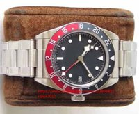 Wholesale watches for sale - seller Mens Classic super Red Blue Bezel Automatic MT5652 Watch ZF Black Bay GMT Full Steel M79830RB Men s Eta mm Sapphire Wristwatches