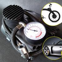 kompresör 12v otomatik toptan satış-300PSI 12 V Mini Hava Kompresörü Auto Car Elektrikli Lastik Hava Şişirme Pompası CSL2018