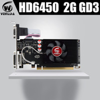 Wholesale graphics cards ddr3 resale online - Graphics Cards HD6450 GB DDR3 HDMI Graphic Video Card High end Game Graphics Card HD6450