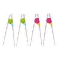 çocuklar için çubuklar toptan satış-1 Pair Çocuk Çubuklarını Çocuk Bebek Öğrenme Yardımcısı Eğitim Çubuklarını Mutfak araçları Için Sağ El Ev çocuk Ürünleri