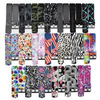 Wholesale silicone rubber print for sale – best For Fitbit Charge Band Printed Patterns Flower US Flag Camo Silicone Straps Replacement Rubber Band without Tracker