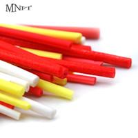 с высокой плотностью связей оптовых-MNFT 10Pcs 2.5/3.3/3.7/4.5mm High Density Cylinder Foam for Fishing Float DIY Making  Tying Rig Making Red Yellow White
