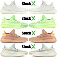 Wholesale girls tops resale online - Black Static Reflective Antlia Gid Glow Synth kanye West Mens Womens Running Shoes Top True Form Frozen Yellow Designer Sneakers