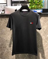 Wholesale online clothing shops for sale - Group buy boy s style unique tee shirt new long sleeve clothes tommy fine cotton for men online shopping T shirt XL