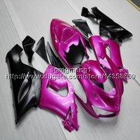 ingrosso zingere dentellare zx636-23colors + regali rosa moto cappuccio per Kawasaki Ninja zx-6r 05 06 ZX 6R ZX636 2005 2006 motore in plastica ABS carenatura