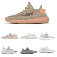 mavi kadın koşu ayakkabıları toptan satış-Erkek ve Bayan Koşu Ayakkabıları Beluga 2.0 Krem Beyaz Statik Tereyağı Susam Mavi Tonu Sneakers Spor Ayakkabı Boyutu US5-13