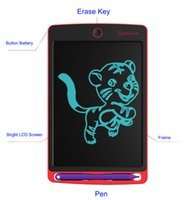 ingrosso vernice lcd-Lavagna portatile da tavoletta digitale LCD da scrittura a 8,5 pollici per scrittura a mano