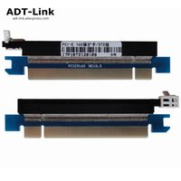 Wholesale test cards for sale - Group buy New PCIe Pin x Male to Female Riser Extended Card Adapter PCI e Express Test DIP slot With Fixing plate for U U U STD