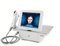 máquina de ultra-som para beleza venda por atacado-2019 Nova HIFU Alta Intensidade Focada Ultrassom HIFU Máquina de Elevação De Endurecimento máquina de beleza DHL Frete Grátis