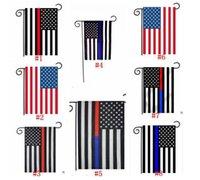 usa bayrak bayrağı toptan satış-Bahçe Bayrağı Ev Dekorasyon ABD Bağımsızlık Günü KIRMIZI Beyaz Mavi Bayrak Polyester Stripes Amerika Birleşik Devletleri Yıldız Banner 625