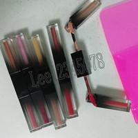 glitzer make-up-kits großhandel-Neue Beauty Makeup Glitter Shimmer Matte Metall Liquid Lidschatten Lidschatten Flüssigkeit 5pcs / set Lidschatten Kit geschmolzene Schatten