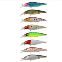 Wholesale soft pike lures resale online - 1 piece g cm Shake Fish Pike fishing lure multi section bait bait fishing accessories artificial fish fishing tackle