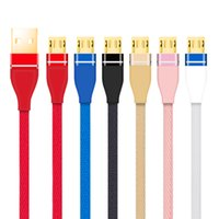 Wholesale micro pcs phones for sale - Fast Speed M M Ft Type c Micro Pin Usb Cables Cable Line For Samsung Galaxy S4 S6 S7 S9 S10 Htc Lg Android Phone PC A Quick Charging