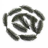 Wholesale garland brooches for sale - Group buy 10 Christmas tree garland home wedding decor artificial plants decorative flowers diy gifts box bride brooch floristics