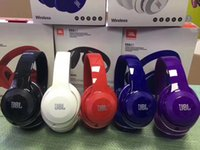 Wholesale free cell phone delivery for sale – best 2019 New fashion JBL Top Quality Wireless Bluetooth Headset Perfect Melody Bass Wireless Headphones Free Retail Box Delivery
