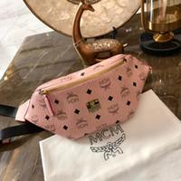 top-luxus-designer-marken großhandel-Markendesigner Gürteltasche Luxus Gürteltasche Damen Herren Markendesigner Brusttaschen Top-Qualität Designer Brief drucken Taille Taschen