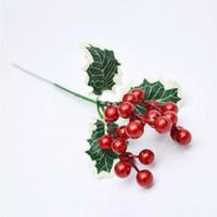 Wholesale artificial fruit for home decor for sale - Group buy Artificial Plants Simulation Auspicious Fruits Rich Fruit Home Decor Plant Berries for Christmas Decoration