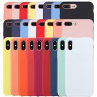 Wholesale New Aiival Rubber Liquid with Logo Silicone Case For mini Pro Max iPhone Xs Mas XR X Plus Plus
