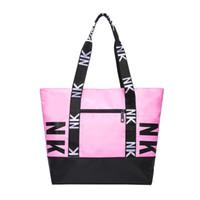 bolso de diseño de nylon al por mayor-La última marca de bolsos de diseño bolsos para las mujeres Totalizador Pink Nylon Bolsos de diseño Señoras Monedero Sac a principal borse