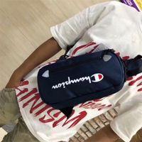 Wholesale best china tablet for sale - Group buy Brand Designer Fanny Pack Champions Letter Waist Belt Bag Unisex Canvas Shoulder Bags Fashion Handbags Travel Beach Chest Bags best C3151