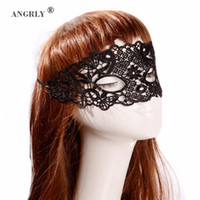Wholesale sexy full faced masks resale online - 1PCS Sexy Lace Venetian Mask For Masquerade Ball Halloween Cosplay Party Masks Female Fancy Dress Costume Masque Eye Mask Women