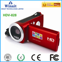 Wholesale sell used electronics resale online - 2017 Hot Selling Mini HD Digital Video Camera X Zoom HD Scree Digital Video Camera Mega Pixels SD Card Up To GB