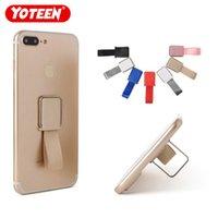 держатели подставки для телефона оптовых-Yoteen Универсальный Держатель для Мобильного Телефона Кольцо Ремешок Палец Стенд Ручка для iPhone Samsung Huawei