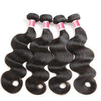 düz dalgalar saç toptan satış-Seçilen yüksek kaliteli gerçek saç, peruk perde, doğal renk vücut dalga, yumuşak ve pürüzsüz ütü, kaliteli.
