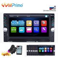 gps bluetooth 2din großhandel-Auto DVD AMPrime 2 Din 7652D Auto-Audio 6,6