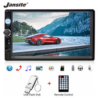 Wholesale Jansite quot Car Radio MP5 player with digital Touch screen Bluetooth din Multimedia Players stereo can connect with Rear camera car dvd