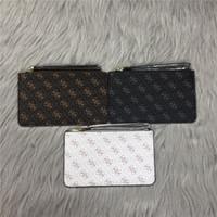 einfache brieftaschenmänner großhandel-Mode einfache Geldbörsen Designer Münzfach Männer Frauen Dame Geldbörse Schlüssel Brieftasche Mini Brieftasche