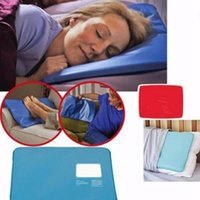 gel-pad-pakete großhandel-Sommer Chillow Therapy Insert Schlafmittel Pad Matte Muscle Relief Cooling Gel Kissen Ice Pad Massager OPP Paket