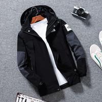 Wholesale fiber slim online – custom TT men designer jackets Mens Jackets Coat New Designer Hooded Jacket With Letters Windbreaker Zipper Hoodies For Men Sportwear Tops Clothing