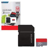128gb tf hafıza kartı toptan satış-2020 Sıcak Satmak Adaptörü ile Ultra A1 100 mbps SD Hafıza Kartı 32 GB 64 GB 128 GB 256 GB 200G Yüksek Hızlı TF Perakende Paket Hızlı Teslimat