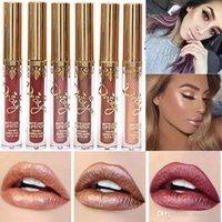 Wholesale lipsticks lime for sale - New Colors Sexy Cosmetics Lime Moisturizing Red Velvet Matte Liquid Lipstick Makeup Lip Gloss Cosmetic Lip Stain Maquiagem