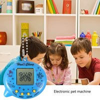 animaux électroniques interactifs achat en gros de-Batteries Unisex Electronic Pet Machine Enfant Electronic Virtual Tiny Pet Classic Interactive Interactive Jouet Éducatif Machine